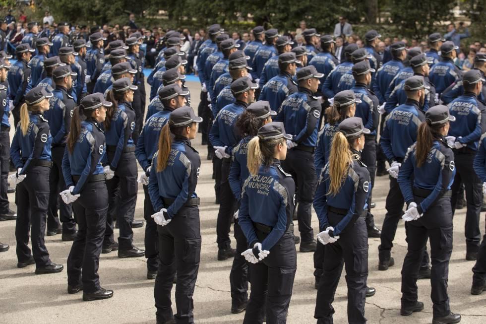 policía oposición